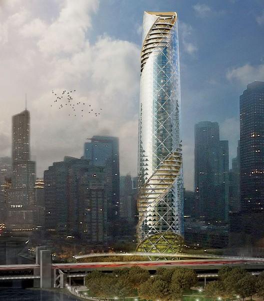 Chicago Beacon / Solomon Cordwell Buenz. Imagen cortesía de Chicago magazine