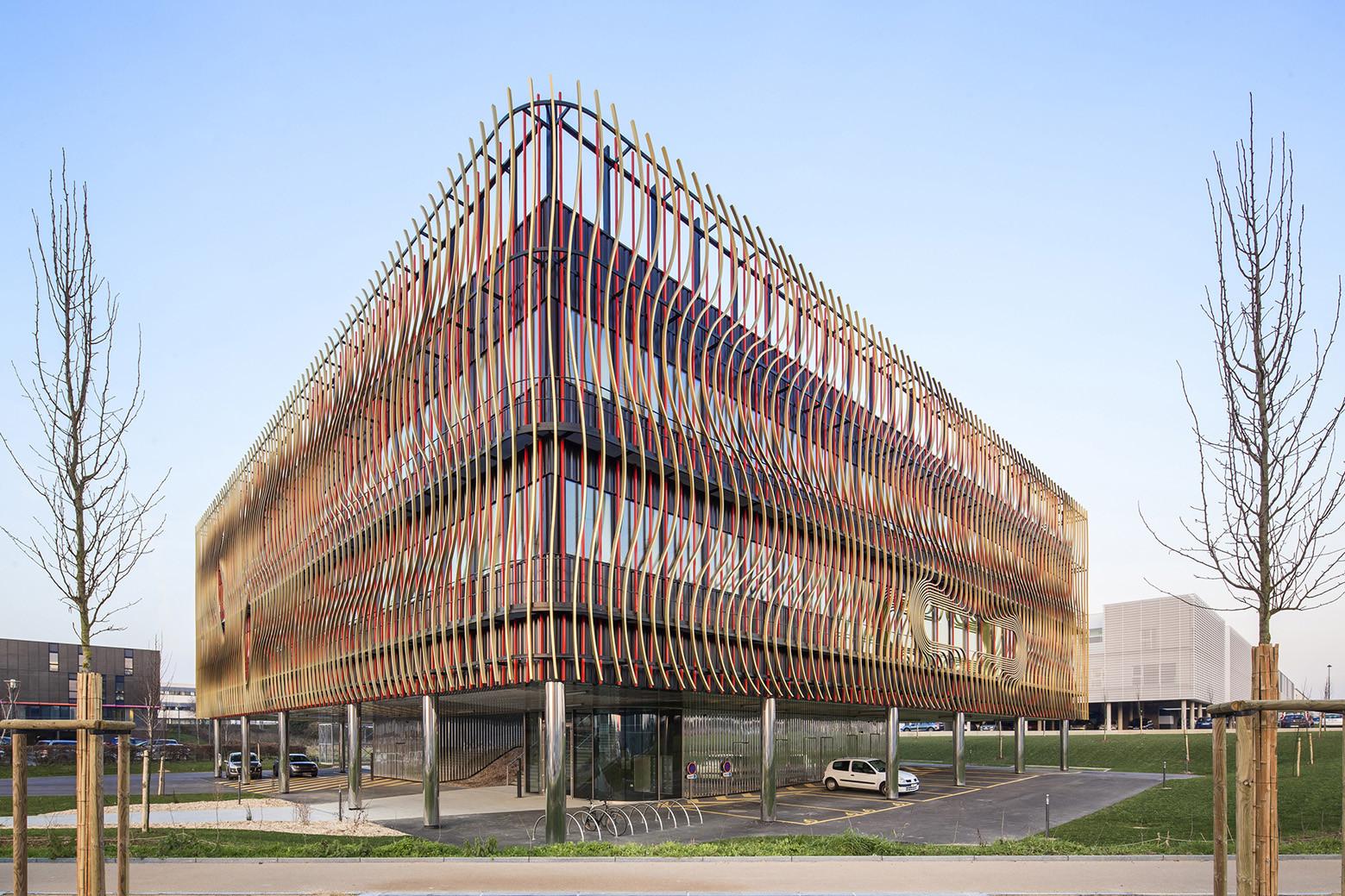 BIOPOLE Biotech Business Incubator / PERIPHERIQUES Architectes, © Luc Boegly