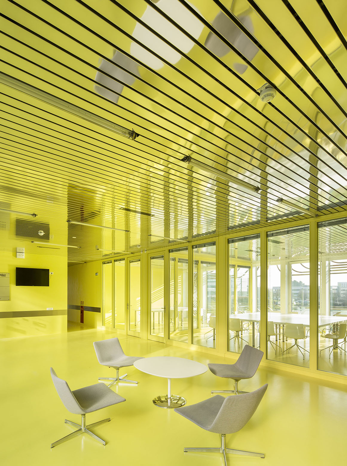 Gallery of biopole biotech business incubator - Interiors rennes ...
