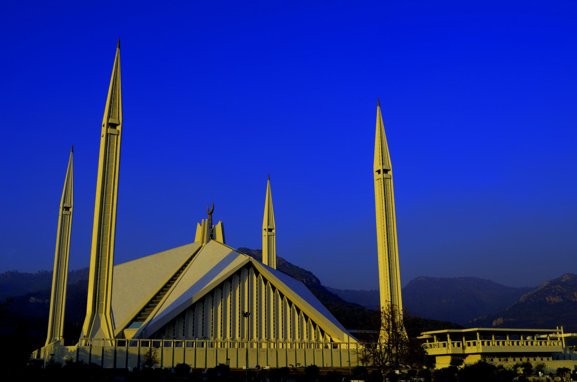 La mezquita Faisal, Islamabad. Imagen © Flickr user  umairadeeb