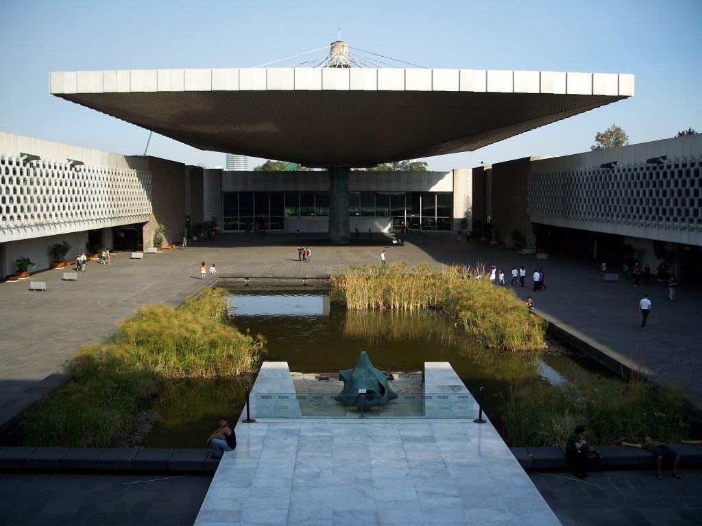Museo Nacional de Antropología e Historia, Pedro Ramirez Vázquez y Rafael Mijares . Image Cortesía museografo.com