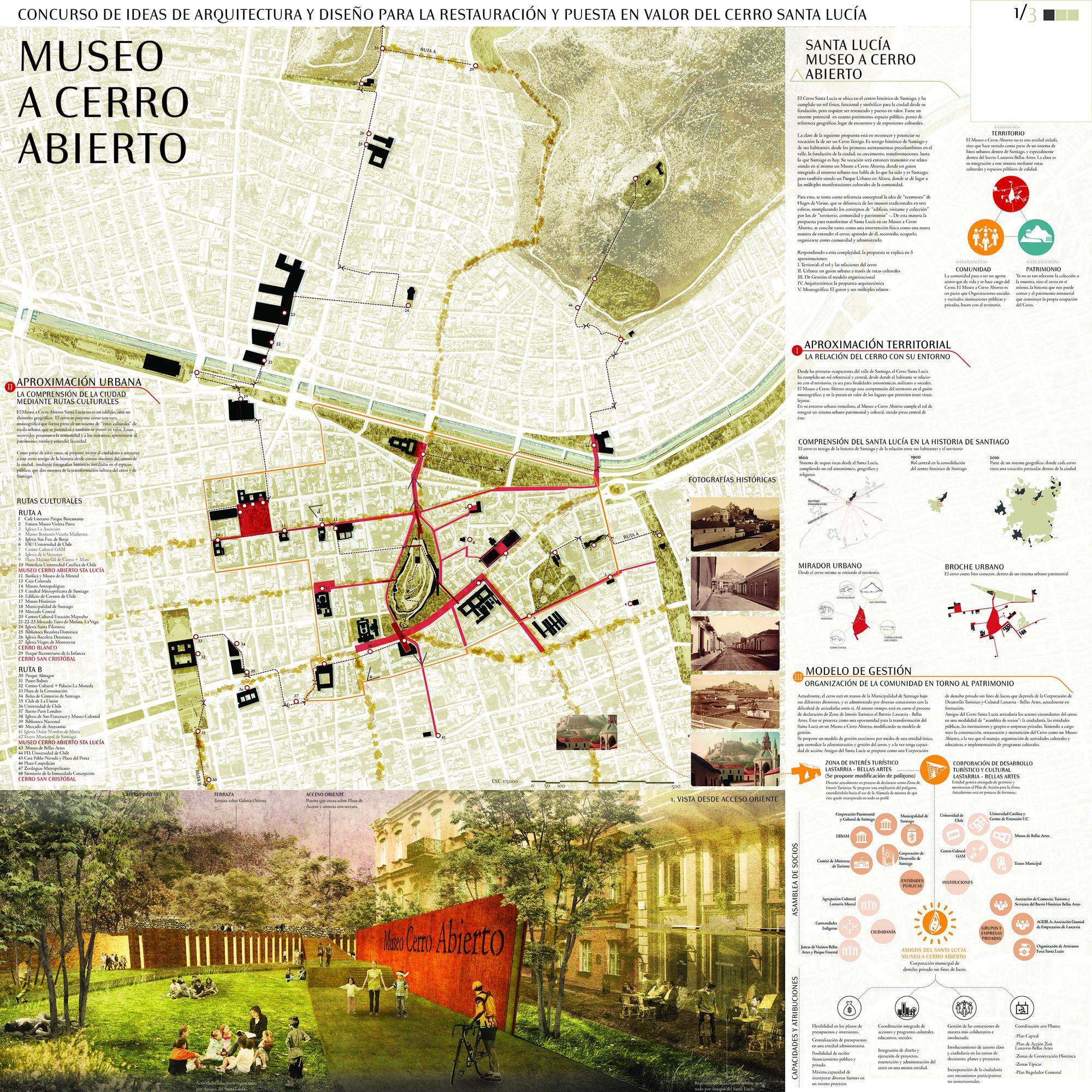 Lámina #01. Image Cortesia de Fundación Cerros Isla + Macarena Gaete