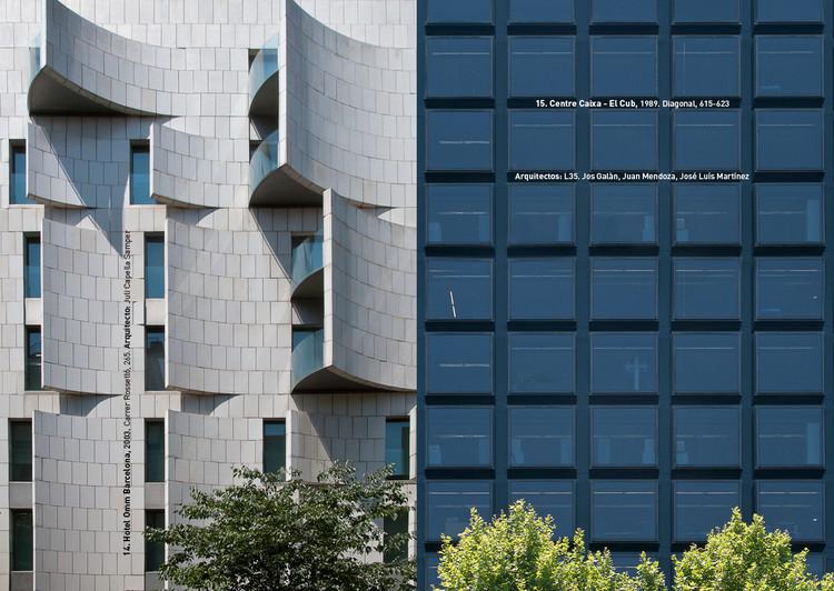 "Fotografía de Arquitectura: ""Discordias Barcelonesas"", un diálogo entre fachadas, © Gabi Beneyto"