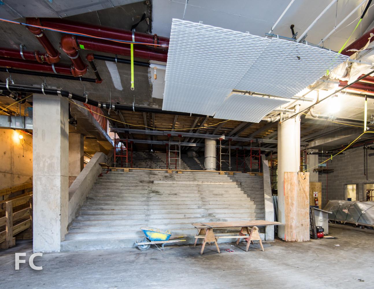 Escalera central. Imagen © Field Condition