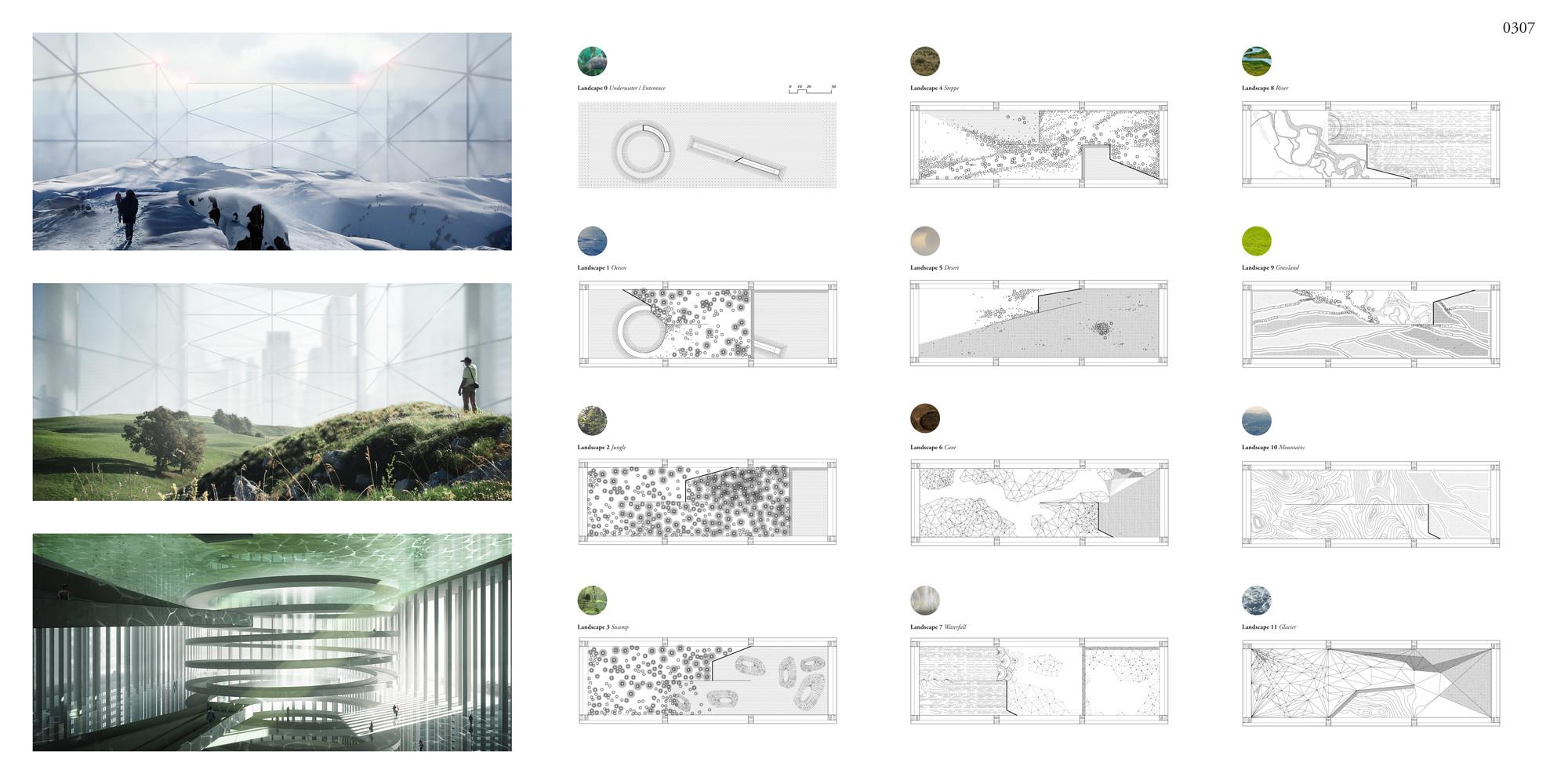 "Primer lugar: ""Essence Skyscraper"" / BOMP (Ewa Odyjas, Agnieszka Morga, Konrad Basan, Jakub Pudo).  Imagen cortesía de eVolo"