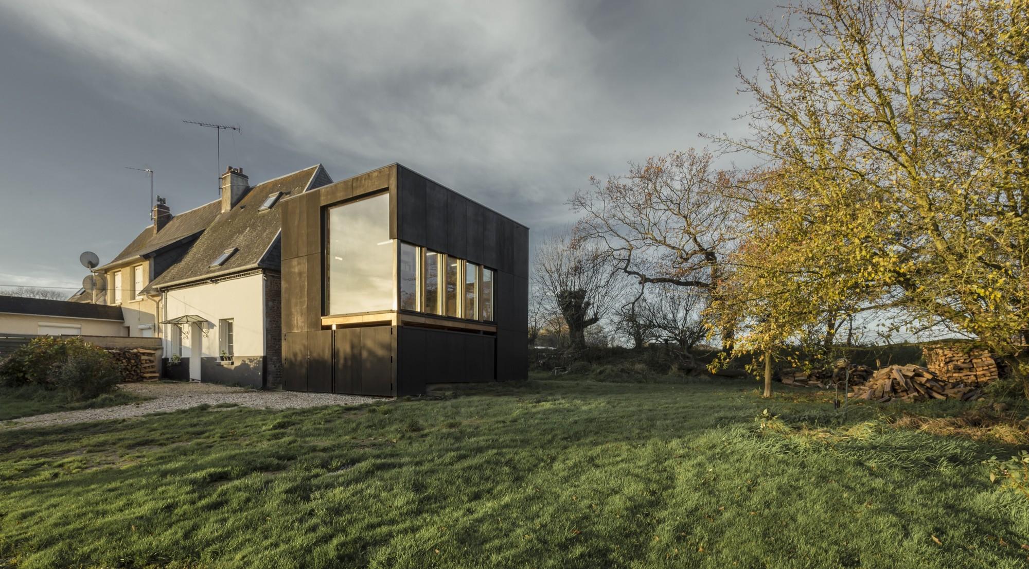 cliffs impasse ziegler antonin architecte archdaily colombia. Black Bedroom Furniture Sets. Home Design Ideas