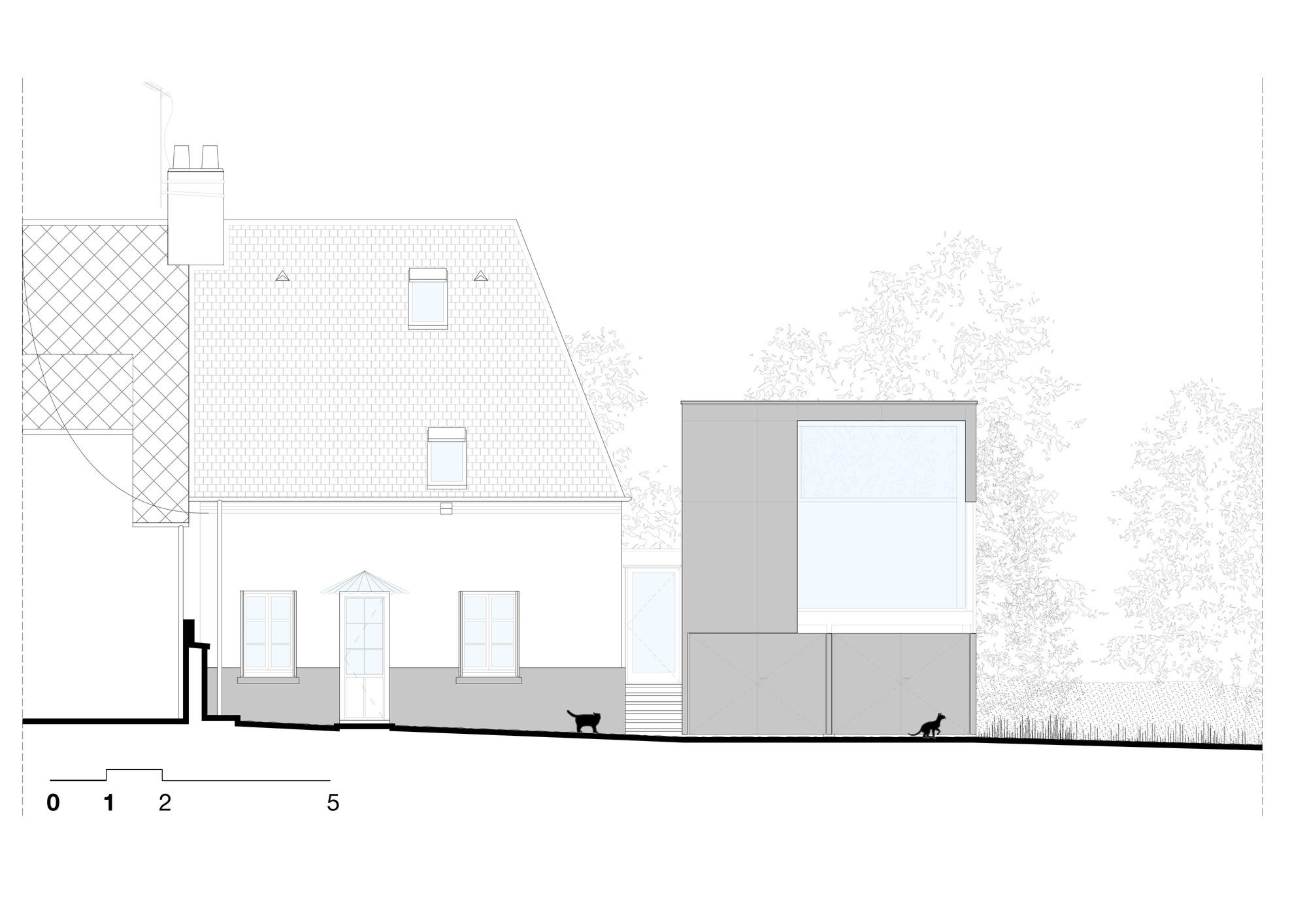 gallery of cliffs impasse ziegler antonin architecte 29. Black Bedroom Furniture Sets. Home Design Ideas