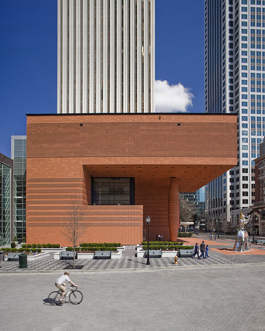 Spotlight: Mario Botta, Bechtler Museum of Modern Art, Charlotte. Image © Joel Lassiter
