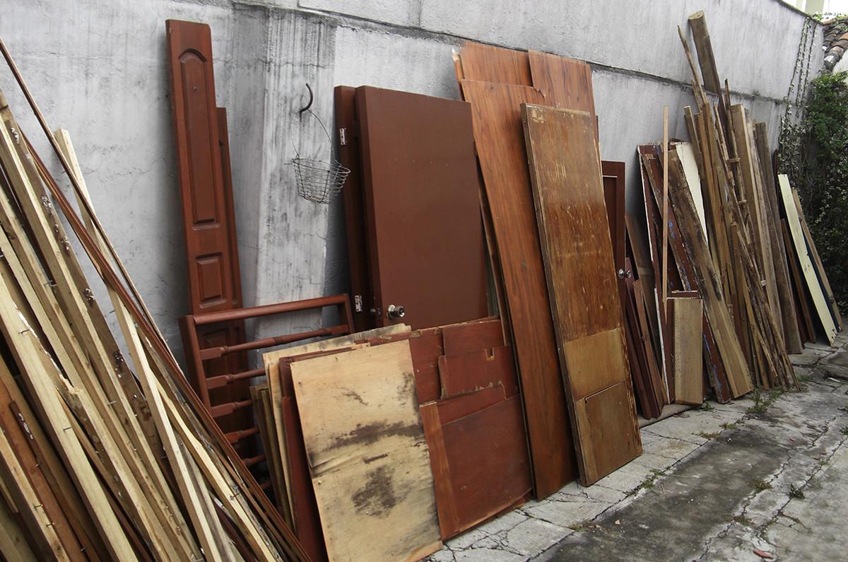 Materiales Rescatados. Image © Daniel Moreno Flores