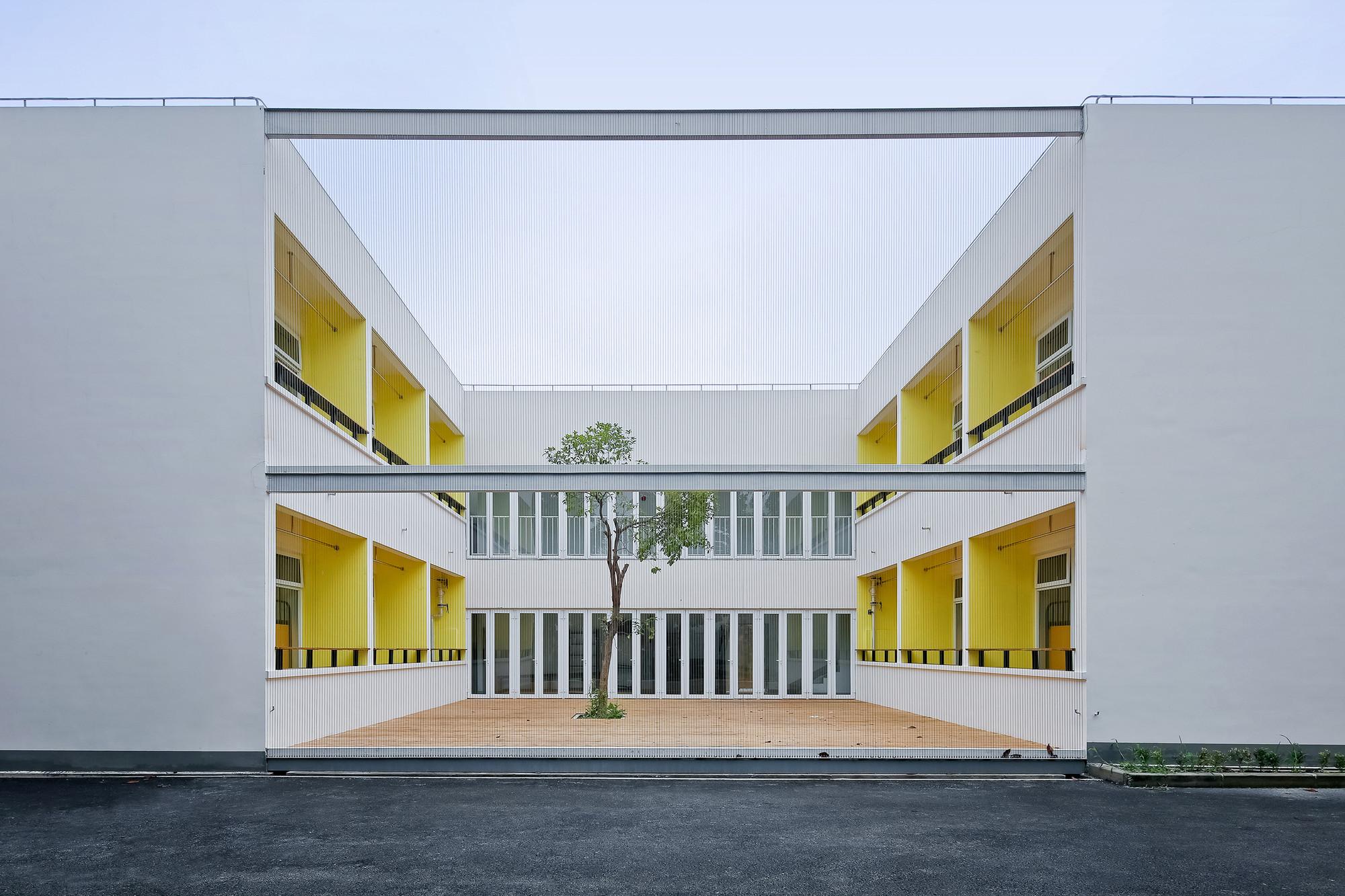 Albergue para Estudiantes / Wuyang Architecture, © SU Shengliang
