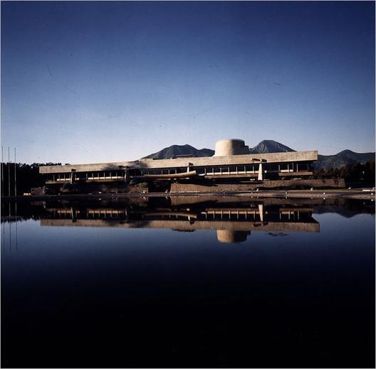 Sede CEPAL, Emilio Duhart (1966). Image © santiagonostalgico [Flickr CC]