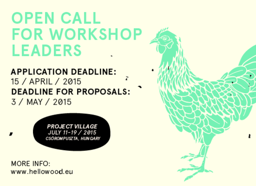Hello Wood Open Call 2015: Project Village, © Hello Wood