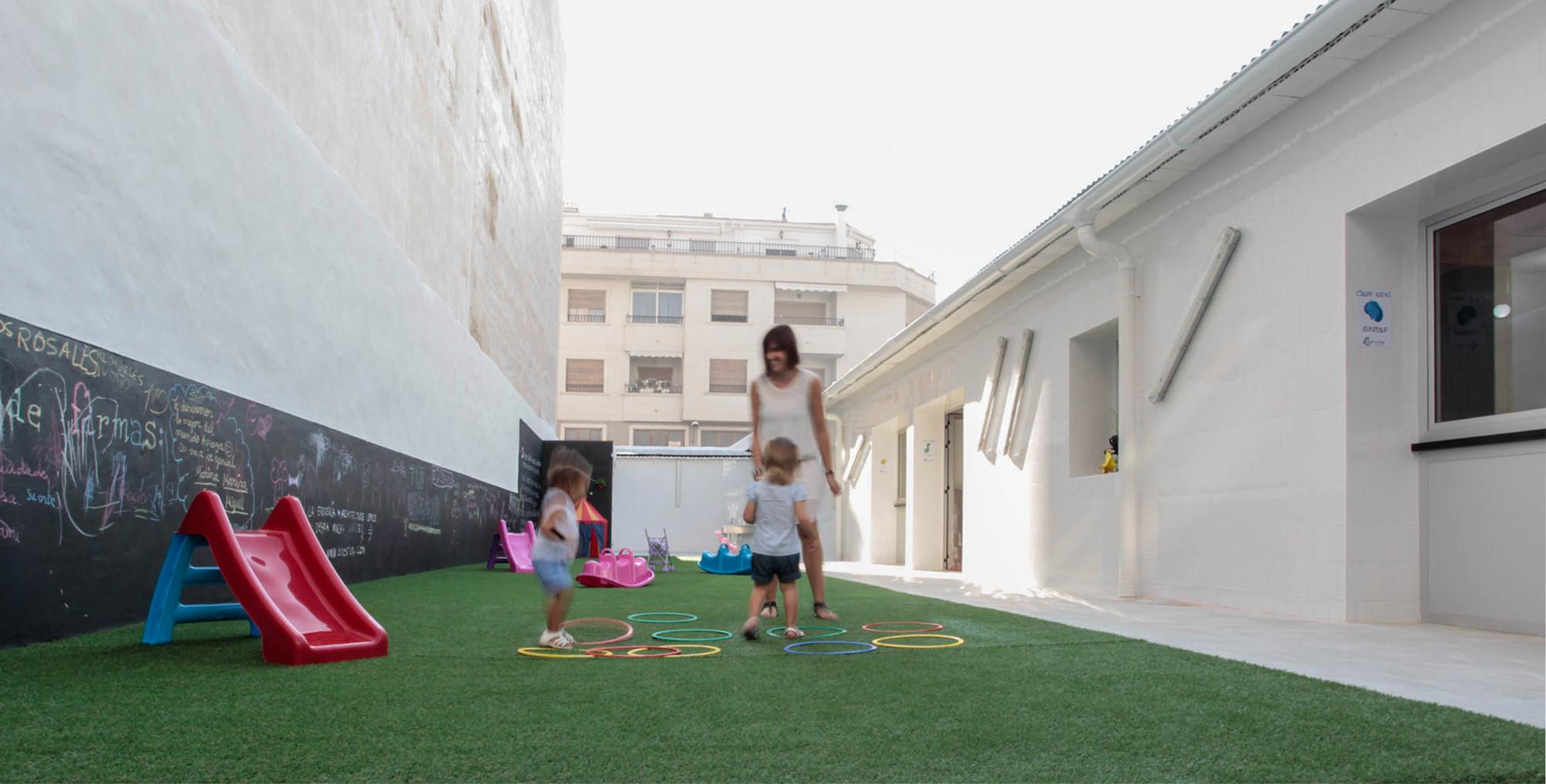 Escuela Infantil CAP-I-CUA / La Errería, © Pablo Pacheco
