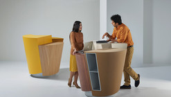 UNStudio's StandTable Designed to Inspire Collaboration and Increase Productivity