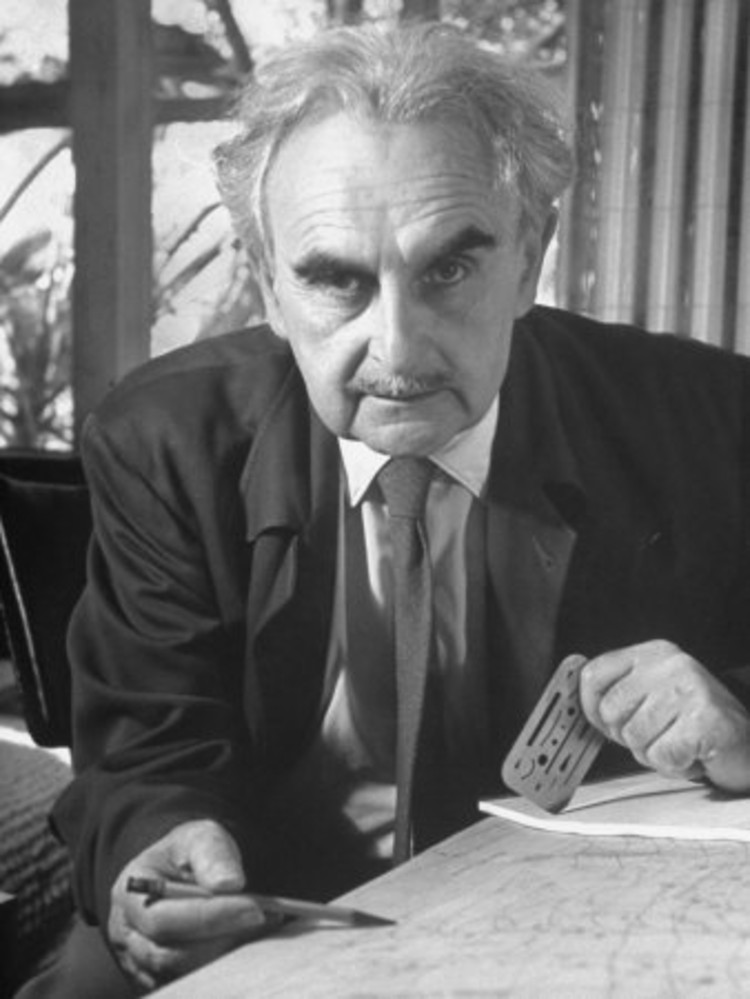 En perspectiva: Richard Neutra, vía Wikipedia