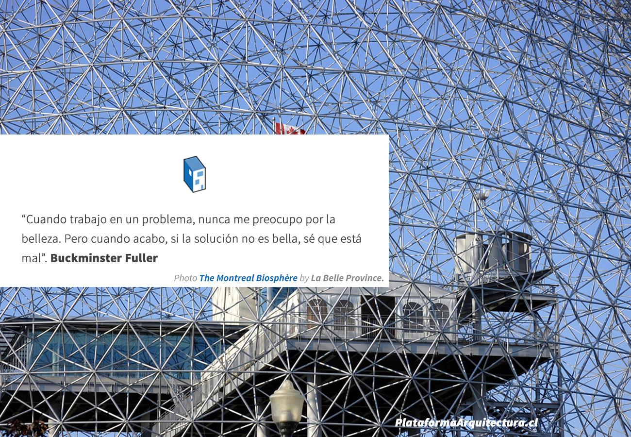 Frases: Buckminster Fuller y la belleza