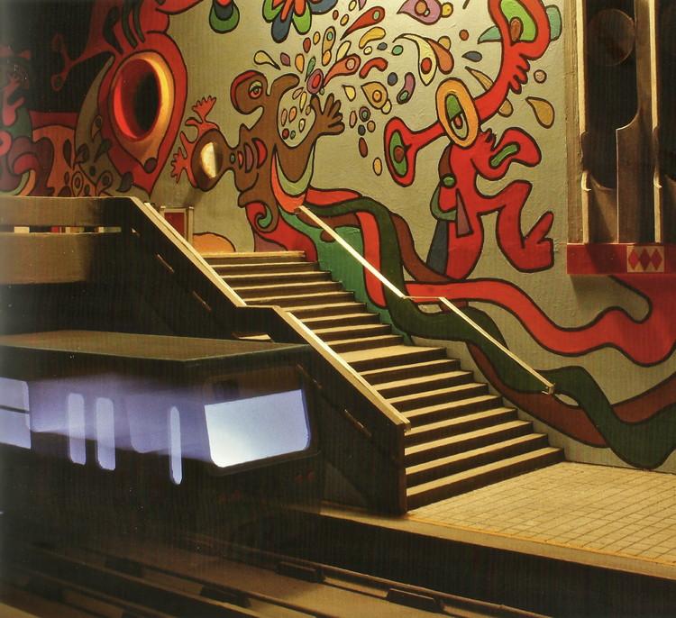 estación pablo neruda- detalle interior