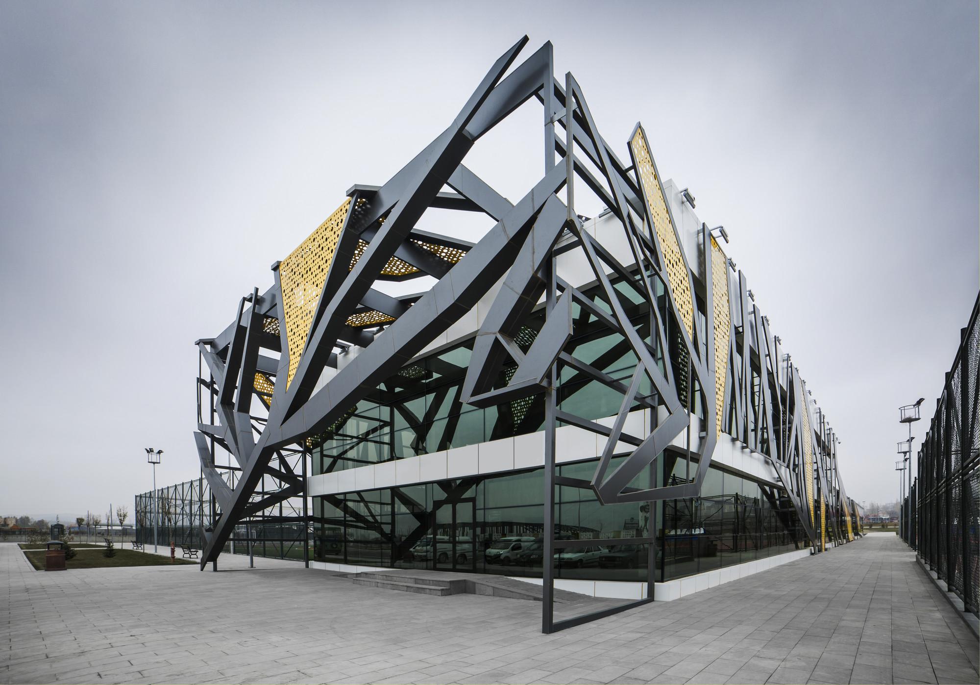 Open Courts Sports Complex / BKA-Bahadır Kul Architects, © Ket Kolektif