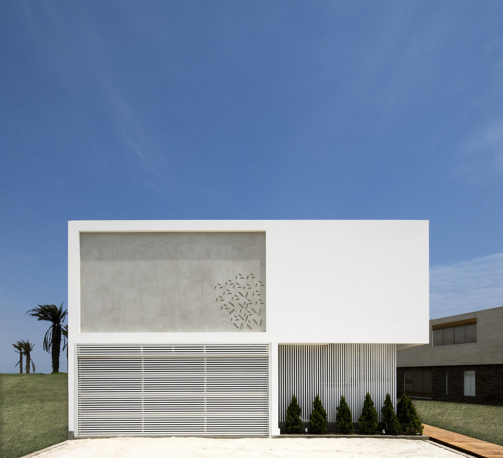Casa V / Estudio 6 Arquitectos, © Gonzalo Cáceres Dancuart