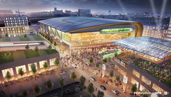 First Renderings of Populous' Downtown Milwaukee Stadium