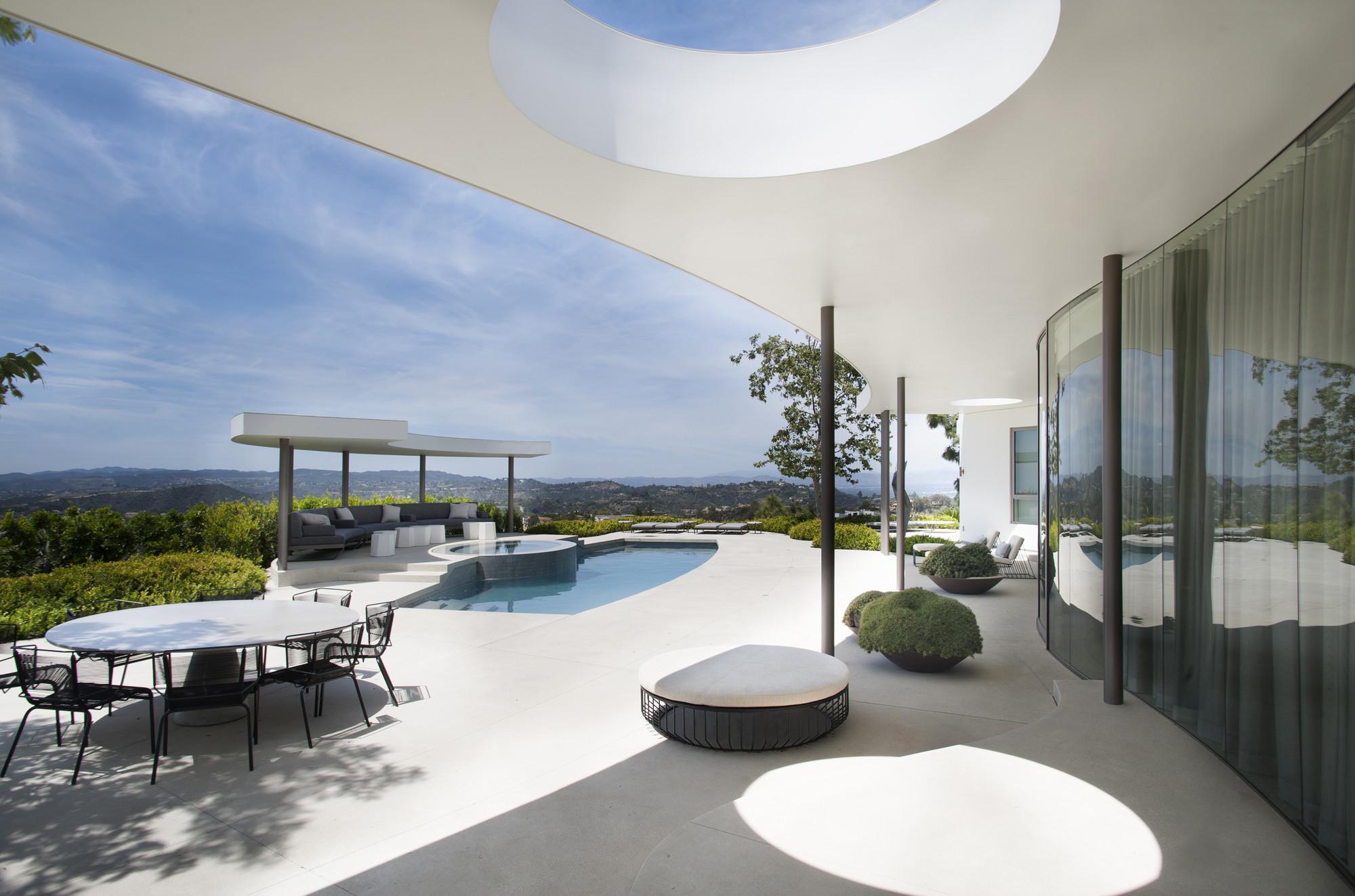Trousdale Estates Contemporary Home / Dennis Gibbens Architects, Courtesy of Dennis Gibbens Architects