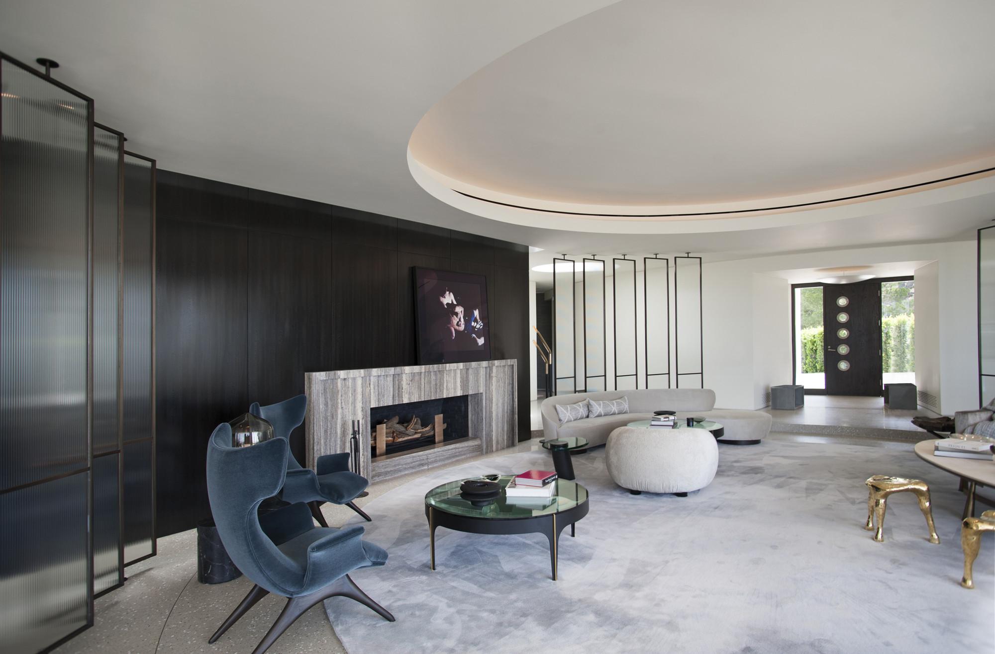 Gallery of trousdale estates contemporary home dennis gibbens architects 4 - Decoration interieur maison de maitre ...