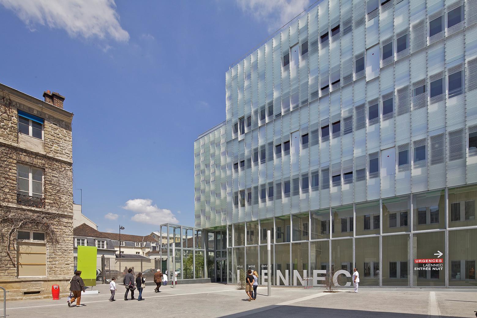 Neker Enfants Malades Hospital / Philippe Gazeau, © Philippe Ruault