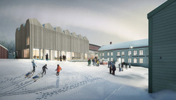 Henning Larsen Designs New Branch of Swedish National Museum
