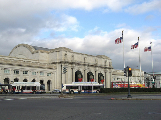 Existing Washington Union Station. Image © beautifulcataya
