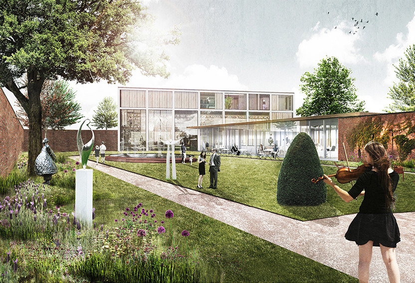 Marc Koehler Wins Competition to Design Edegem Community Center and Library, Courtesy of Marc Koehler Architects