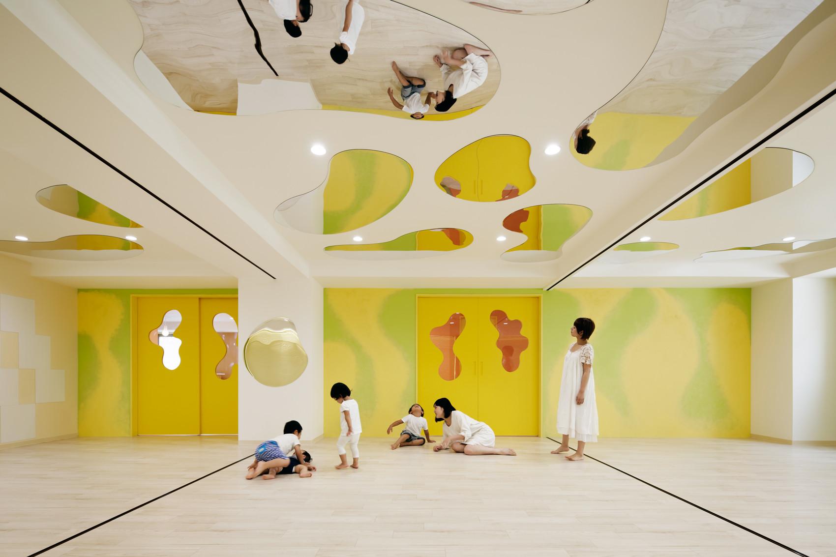 Jardín infantil LHM / Moriyuki Ochiai Architects, © Atsushi Ishida