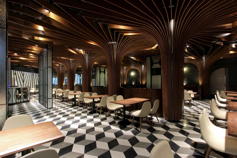 jordan road restaurant bar caa archdaily. Black Bedroom Furniture Sets. Home Design Ideas