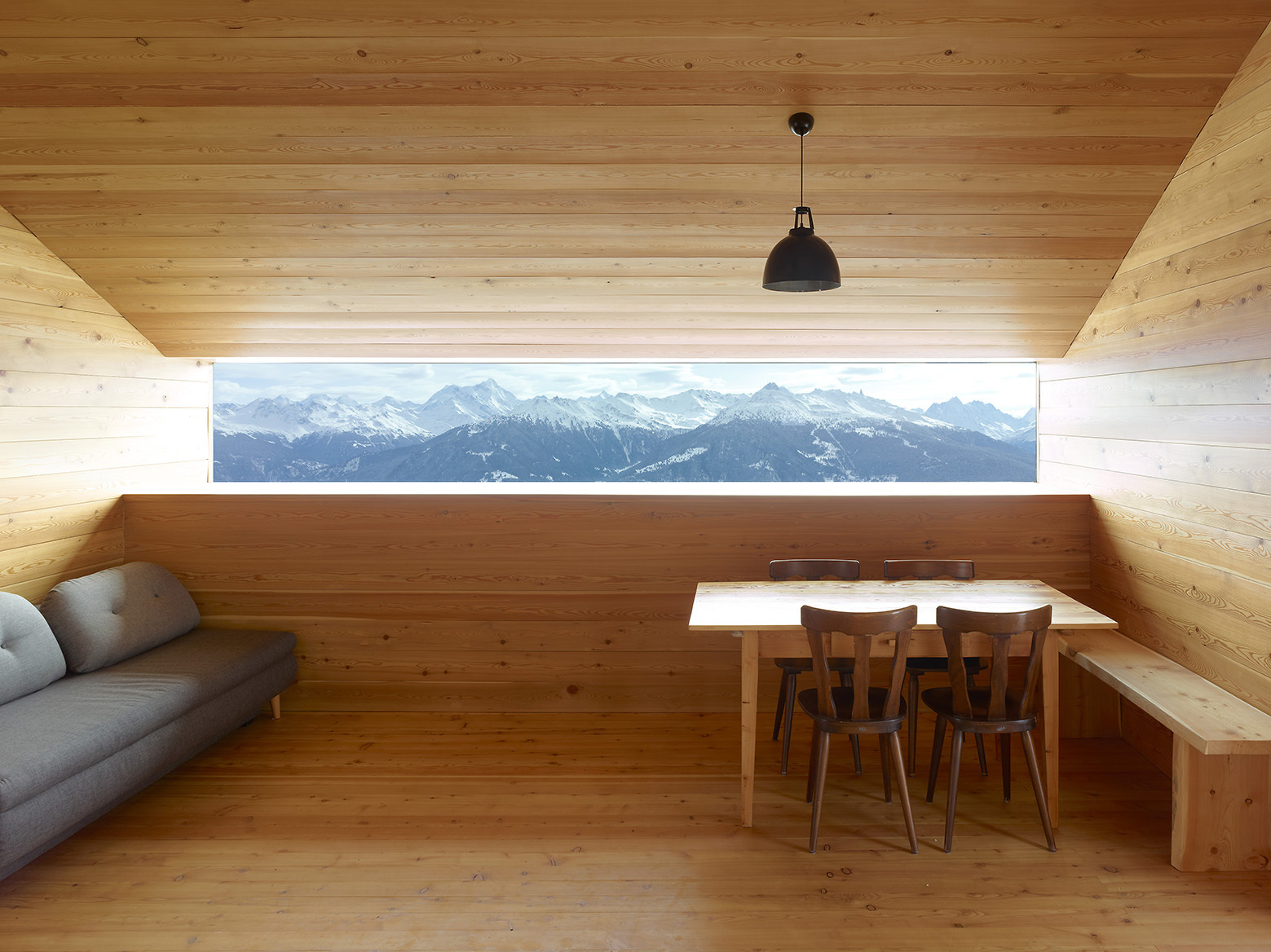 Gaudin House / Savioz Fabrizzi Architectes, © Thomas Jantscher
