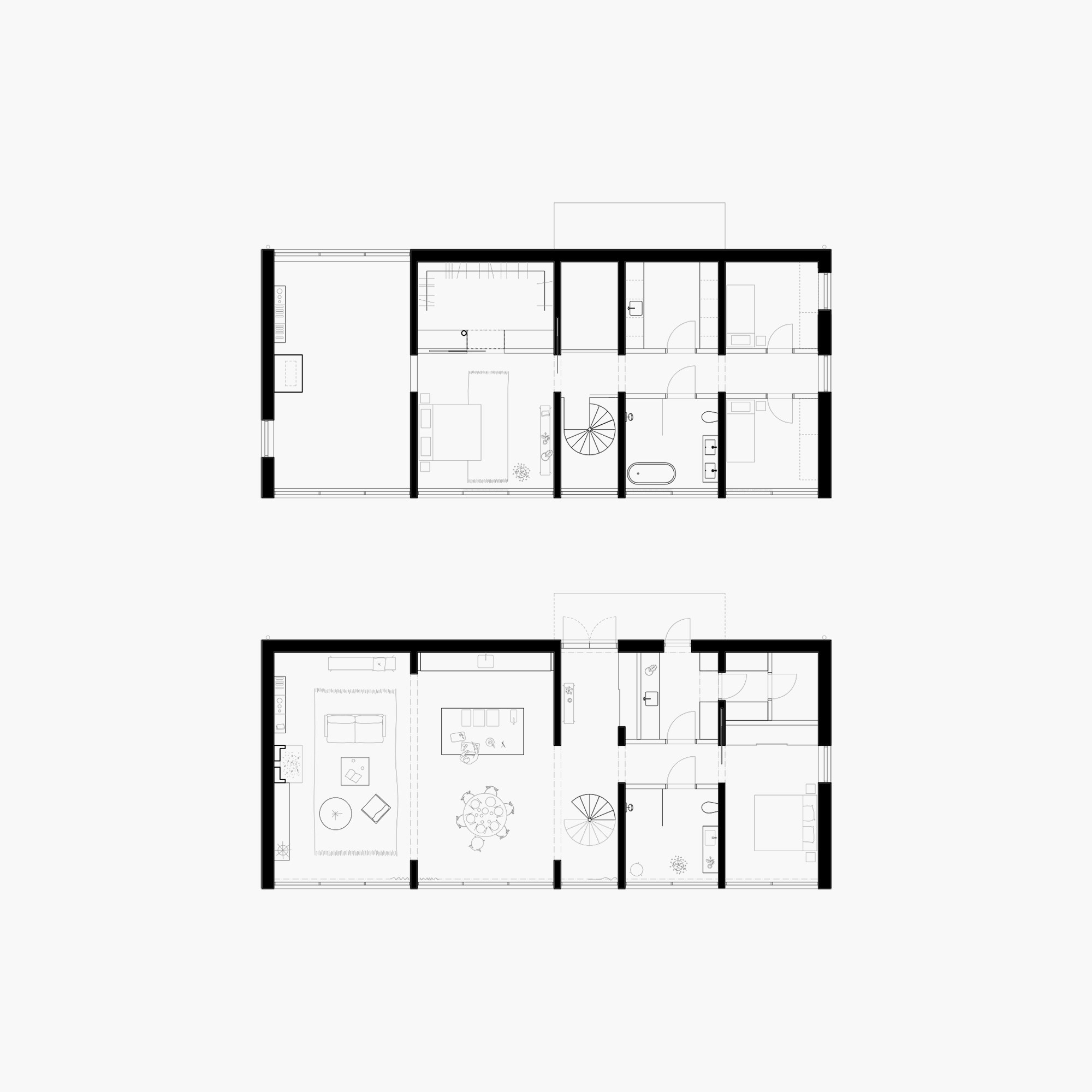 Six walls house arrhov frick arkitektkontor archdaily for Wall homes floor plans