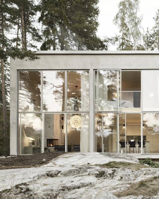 Casa de 6 muros / Arrhov Frick Arkitektkontor, © Mikael Olsson