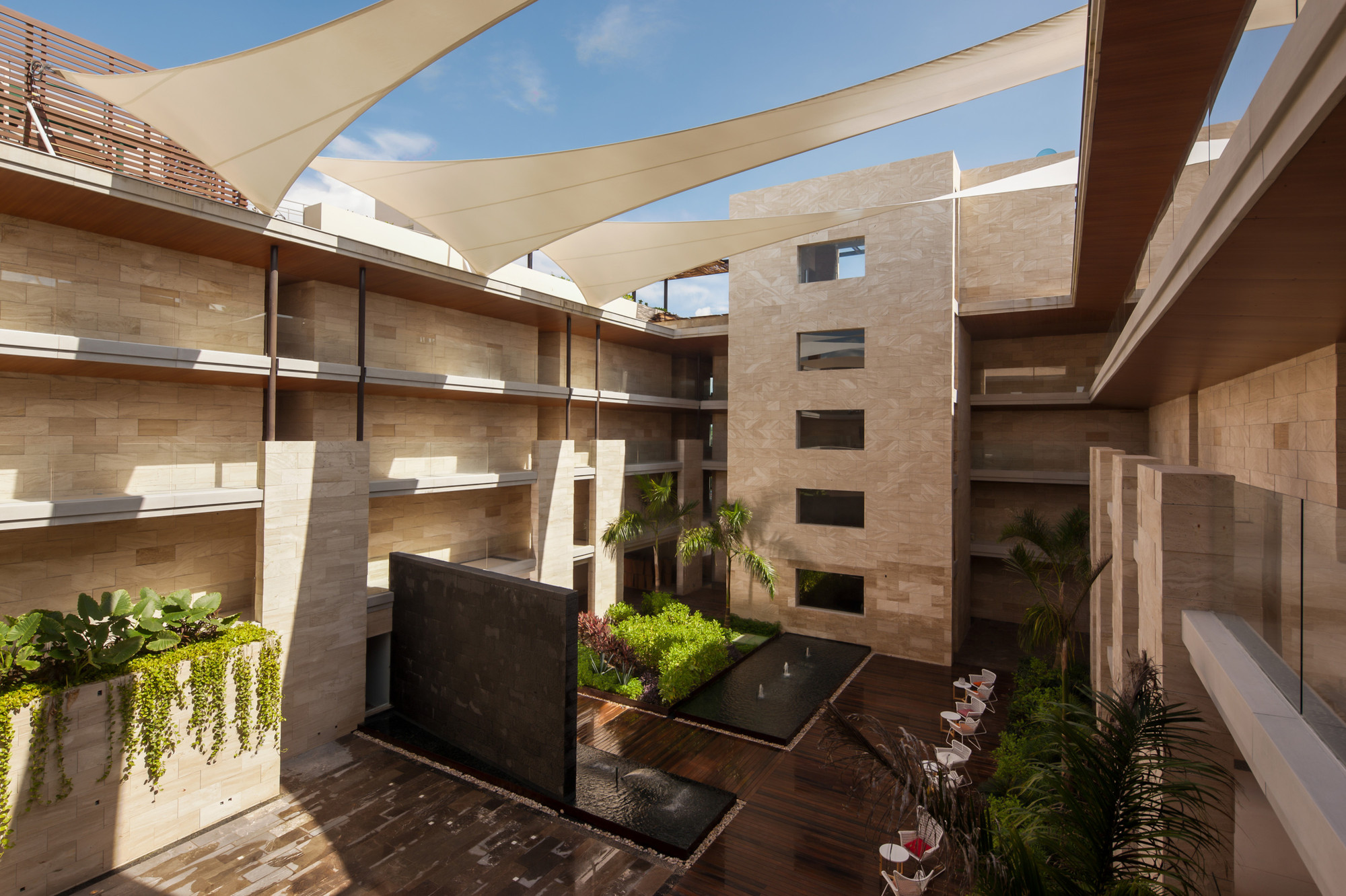 Hotel boutique cacao rdlp arquitectos archdaily m xico for Arquitectura de hoteles