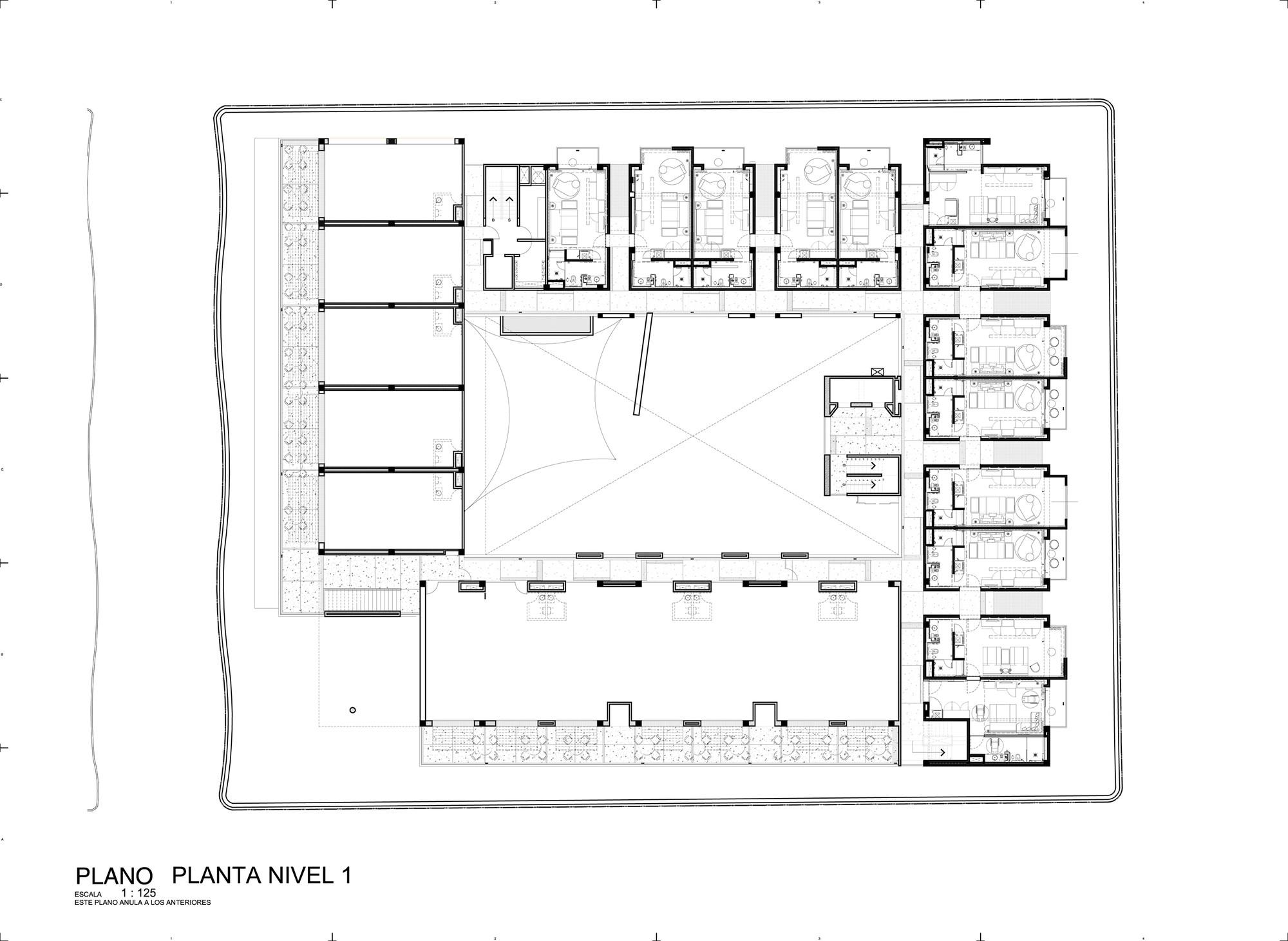 Hotel boutique cacao rdlp arquitectos archdaily m xico for Asilo de ancianos pdf