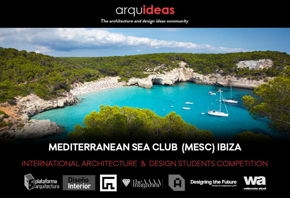 """VIII Concurso Arquideas: """"Mediterranean Sea Club"""""""