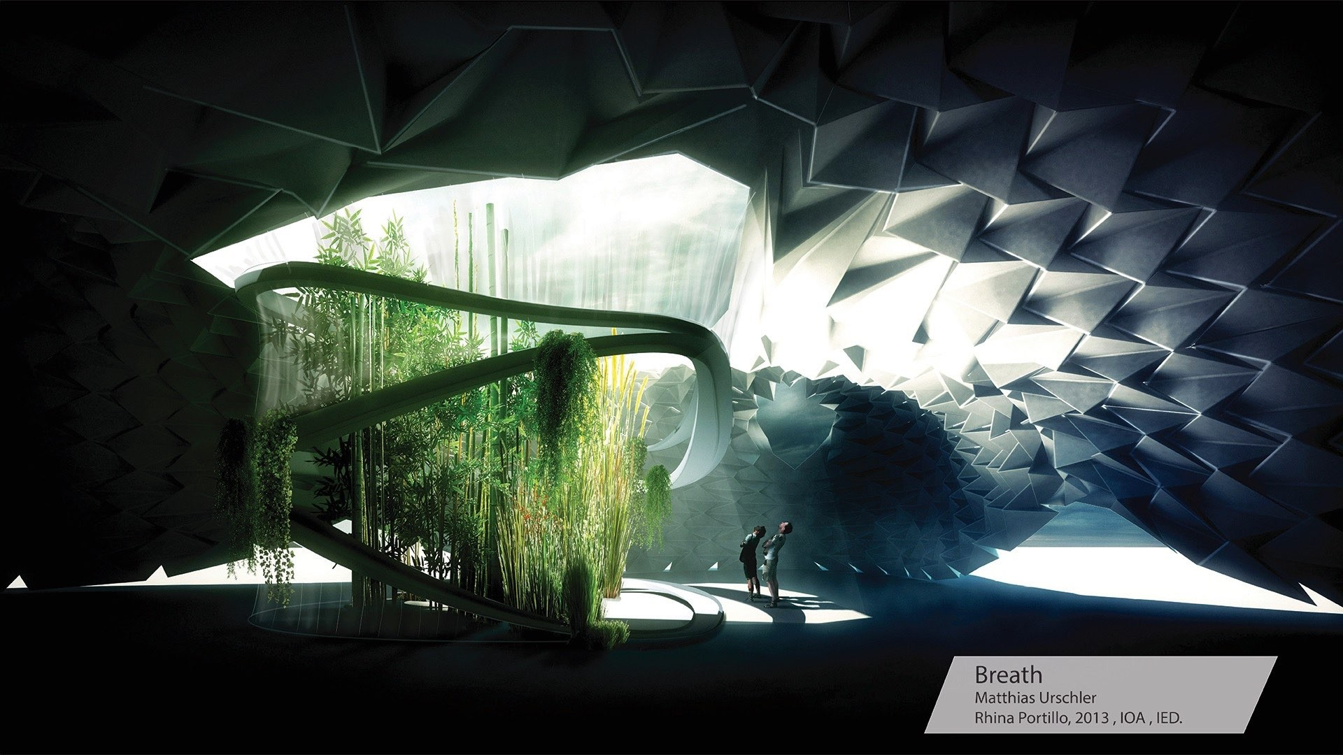 Propuesta 'Breath'. Image Cortesia de SYNArchitecture