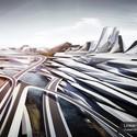 Propuesta 'Ciudad linear de Estambul'. Image Cortesia de SYNArchitecture
