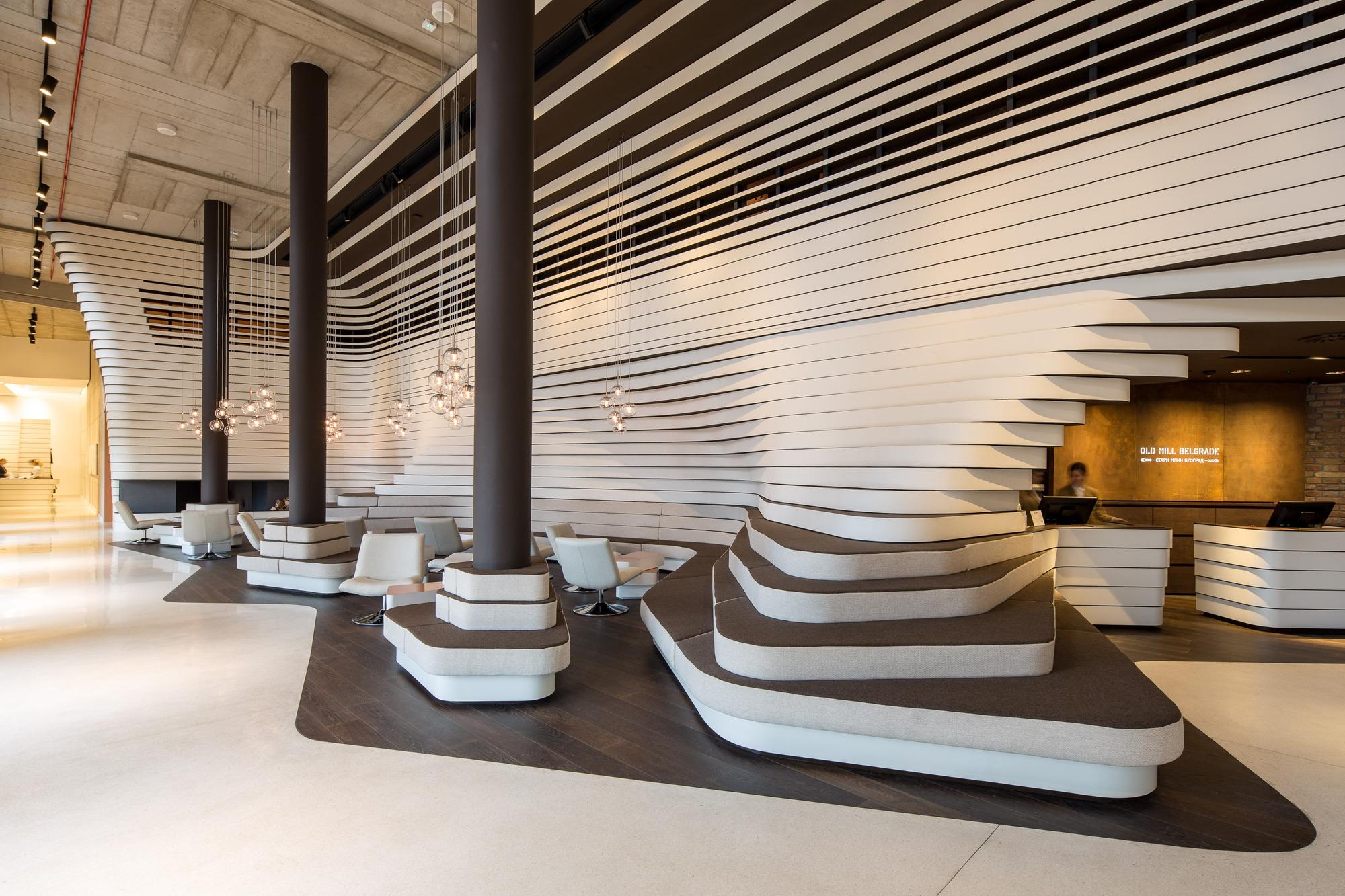 Gallery of old mill hotel belgrade graft architects 6 for Design hotel belgrade