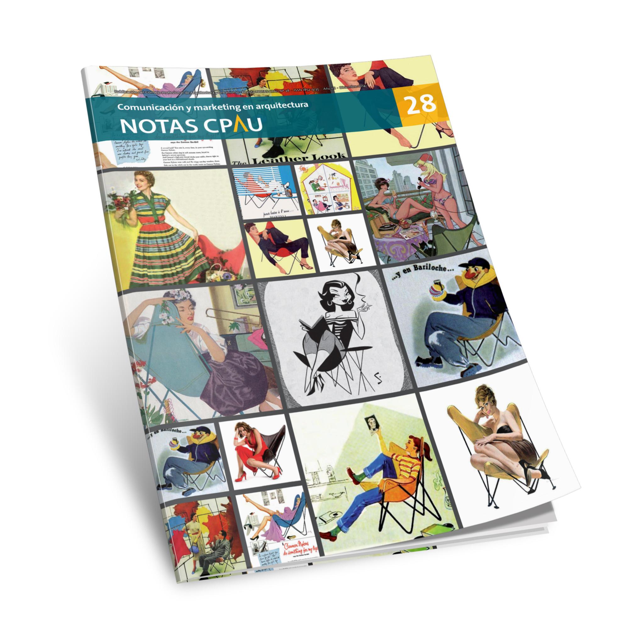 Revista Notas CPAU #28: Comunicación y Marketing en Arquitectura