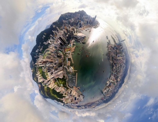 Hong Kong, China. Image © Air Pano/Caters News Agency