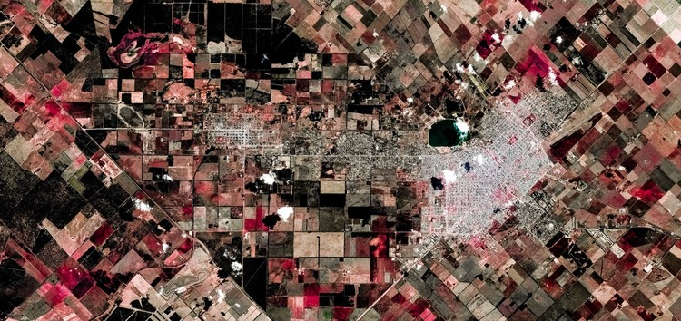 © Federico Winer @Google Earth and satellite data providers.