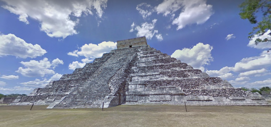 Chichen Itza. Image vía Google Street View