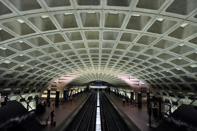 L'Enfant Plaza metro station. Image © Flickr CC User Brad Clinesmith