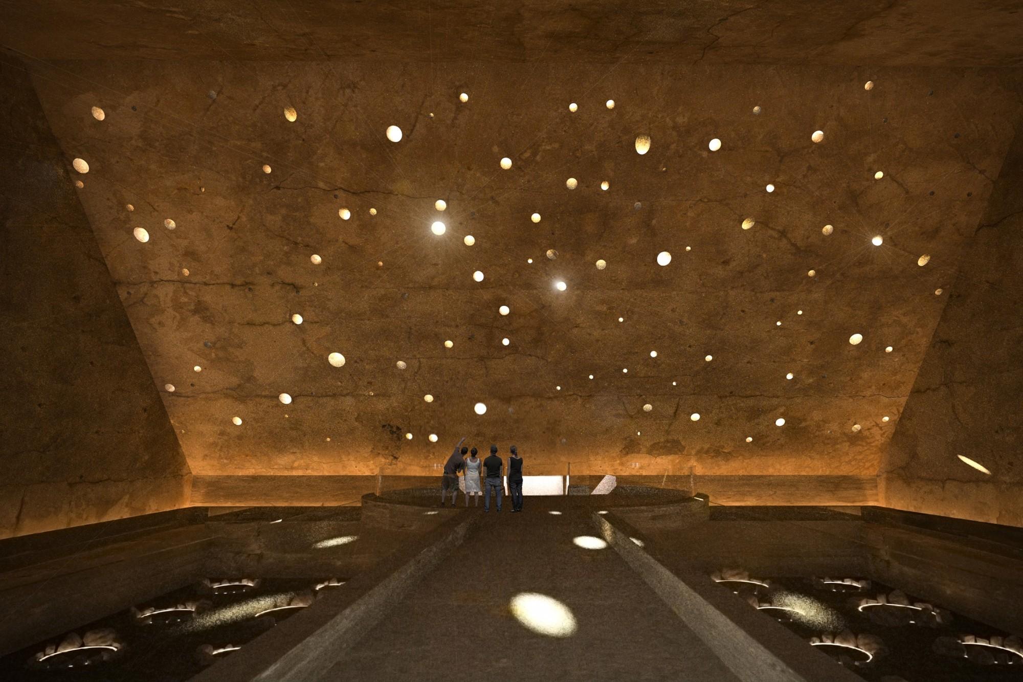 """Primer Lugar: """"La ruta de los gentiles"""". Image Cortesia de Archiprix Chile"""