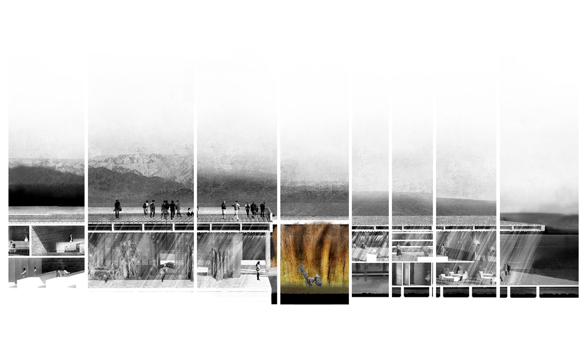 "Segundo Lugar: ""Muelle de Mimbre"". Image Cortesia de Archiprix Chile"