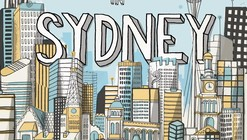 All the Buildings in Sydney Drawn by Hand