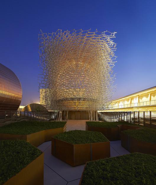 "Expo Milán 2015: Wolfgang Buttress finaliza el pabellón británico ""Virtual Beehive"" , © Hufton+Crow"